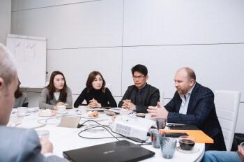 Визит представителей Министерства по малому и среднему предпринимательству и стартапам Республики Корея в Москву