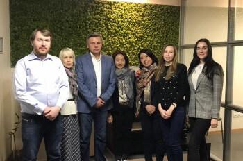 Встреча представителей Южнокорейской Телекомпании SBS и Членов Делового Совета компании «GoodMovTelevision»